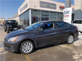 Used 2014 Nissan Sentra 1.8 SV..Auto/Air for sale in Burlington, ON