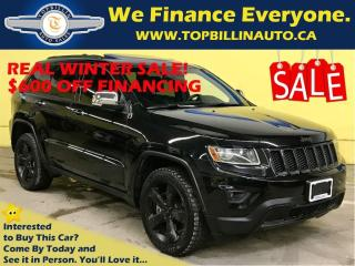 Used 2014 Jeep Grand Cherokee 5.7L HEMI, NAVI, LEATHER, SUNROOF, BackUp Cam for sale in Concord, ON