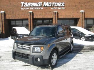 Used 2008 Honda Element AWD   5 SPEED MANUAL  TRANSMISSION   AUX PLUG IN   for sale in Mississauga, ON