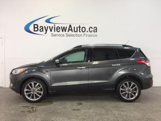 Used 2015 Ford Escape SE- 4WD KEYPAD ECOBOOST PANOROOF HTD STS SYNC! for sale in Belleville, ON