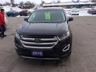 Used 2015 Ford Edge SEL for sale in Morrisburg, ON