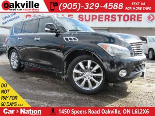 Used 2011 Infiniti QX56 7 PASS+LEATHER+DUAL DVD+NAVI+360 CAM for sale in Oakville, ON