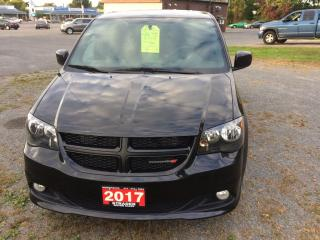 Used 2017 Dodge Grand Caravan CVP/SXT blacktop edition for sale in Morrisburg, ON