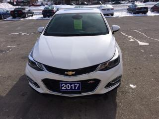Used 2017 Chevrolet Cruze Premier Auto for sale in Morrisburg, ON