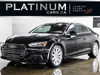 Used 2018 Audi A5 2.0T Quattro PROGRESSIV, NAVI, PANO, CAM for sale in Toronto, ON