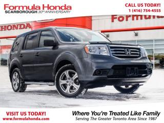 Used 2013 Honda Pilot LX | PRISTINE CONDITION | LOW KM!! for sale in Scarborough, ON