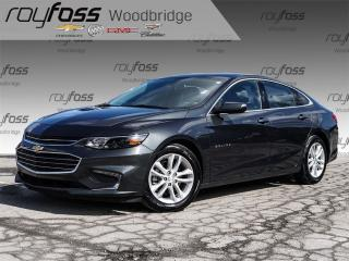 Used 2017 Chevrolet Malibu LT w/1LT Leather, Backup Cam, Bluetooth, Bose for sale in Woodbridge, ON