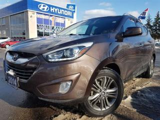 Used 2014 Hyundai Tucson GLS-ALLOYS-SUNROOF IN VERY GOOD CONDITION for sale in Mississauga, ON