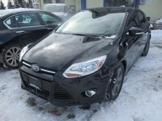 Used 2014 Ford Focus POWER EQUIPPED SE - HATCH MODEL 5 PASSENGER 2.0L - DOHC.. HEATED SEATS.. KEYLESS ENTRY.. SYNC TECHNOLOGY.. BLUETOOTH SYSTEM.. for sale in Bradford, ON