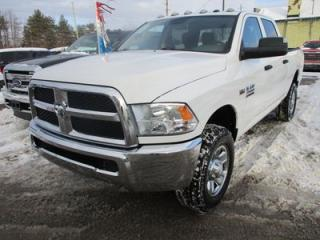 Used 2014 Dodge Ram 2500 READY TO WORK '3/4 TON' 6 PASSENGER 6.4L - HEMI.. 4X4.. CREW.. SHORTY.. AUX/USB INPUT.. TRAILER BRAKE.. KEYLESS ENTRY.. for sale in Bradford, ON