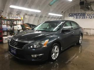 Used 2013 Nissan Altima 2.5*SV*NAVIGATION*BACK UP CAMERA*POWER SUNROOF*HEATED FRONT SEATS*PHONE CONNECT*POWER DRIVER SEAT*DUAL ZONE CLIMATE CONTROL* for sale in Cambridge, ON