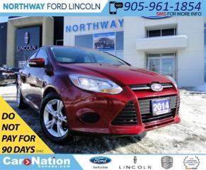 Used 2014 Ford Focus SE | HEATED SEATS | BLUETOOTH | LOW KM | for sale in Brantford, ON