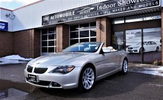 Used 2006 BMW 650i 650Ci CONVERTIBLE NAVI NO ACCIDENT for sale in Mississauga, ON