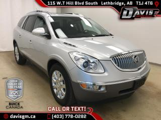 Used 2011 Buick Enclave CXL AWD, 7 PASSENGER, HEATED LEATHER, SUNROOF for sale in Lethbridge, AB