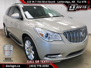 Used 2015 Buick Enclave Premium AWD, 7 PASSENGER, HEATED/COOLED LEATHER for sale in Lethbridge, AB