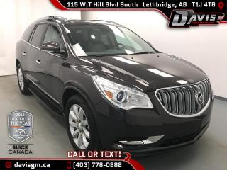 Used 2015 Buick Enclave Premium ONE OWNER, FULL HISTORY for sale in Lethbridge, AB