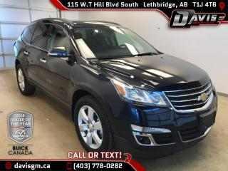 Used 2016 Chevrolet Traverse 1LT AWD, 7 PASSENGER, HEATED SEATS for sale in Lethbridge, AB
