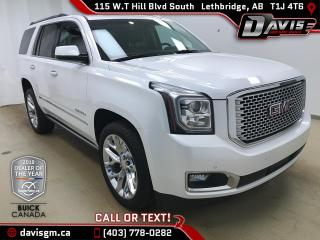 Used 2016 GMC Yukon Denali 4WD, 7 PASSENGER, HEATED/COOLED LEATHER for sale in Lethbridge, AB