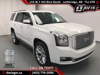 Used 2016 GMC Yukon Denali 7 PASSENGER! HEATED & COOLED LEATHER for sale in Lethbridge, AB