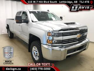 Used 2017 Chevrolet Silverado 2500HD LT DURAMAX DIESEL, 40/20/40 SPLIT BENCH for sale in Lethbridge, AB