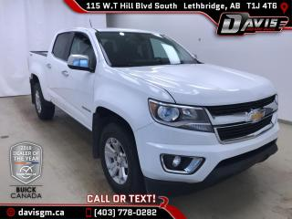 Used 2017 Chevrolet Colorado 4WD, HEATED SEATS, ONSTAR 4G LTE WIFI for sale in Lethbridge, AB