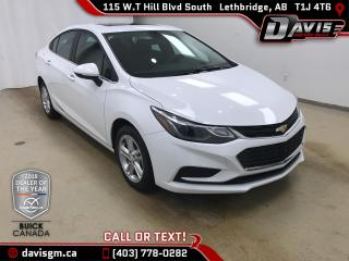 Used 2017 Chevrolet Cruze LT Auto HEATED SEATS, REAR CAMERA, SUNROOF for sale in Lethbridge, AB