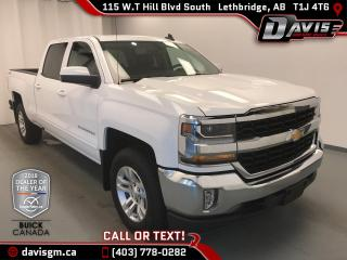 Used 2017 Chevrolet Silverado 1500 1LT LEATHER SPLIT BENCH, LOW MILEAGE! for sale in Lethbridge, AB