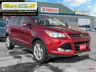 Used 2015 Ford Escape Titanium. LEATHER. GREAT ON GAS. SUNROOF. for sale in Tilbury, ON