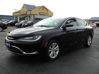 Used 2015 Chrysler 200 Limited 2.4L HeatedSeats Bluetooth for sale in Brantford, ON