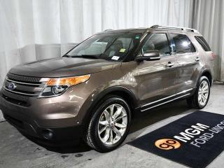 Used 2015 Ford Explorer LIMI for sale in Red Deer, AB