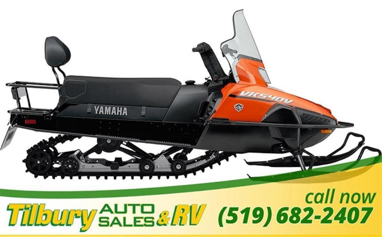 2018 Yamaha VK540F UTILITY SERIES SLED