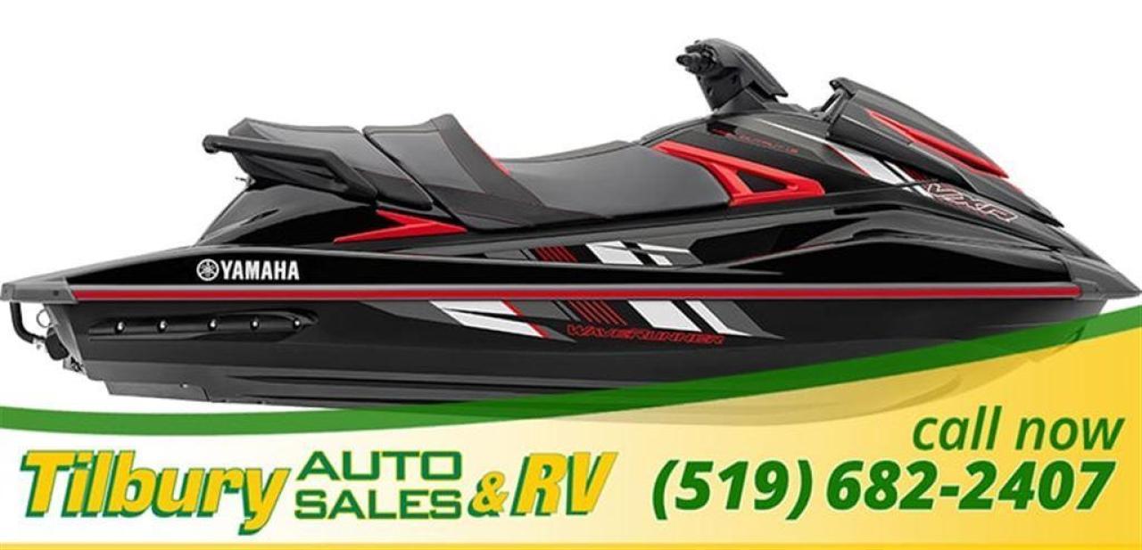 2018 Yamaha VXR $250 IN-STORE CREDIT + 24 MONTH WARRANTY