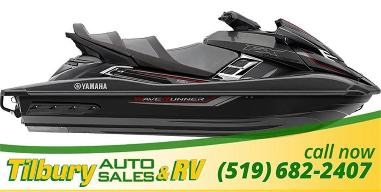 2018 Yamaha FX CRUISER SVHO $250 IN-STORE CREDIT + 24 MONTH WARRANTY