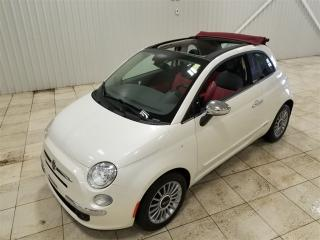Used 2013 Fiat 500 C Lounge Convertible for sale in Mercier, QC