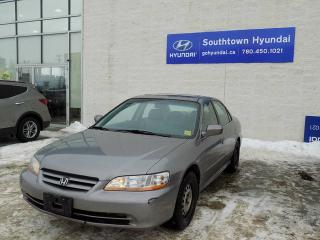 Used 2001 Honda Accord EX/LEATHER/SUNROOF/HEATED SEATS for sale in Edmonton, AB