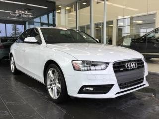 Used 2014 Audi A4 2.0 TECHNIK, AWD, NAVI, ACCIDENT FREE for sale in Edmonton, AB