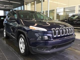 Used 2015 Jeep Cherokee SPORT, 4WD, ONE OWNER for sale in Edmonton, AB