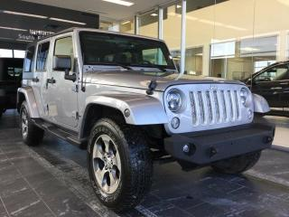 Used 2016 Jeep Wrangler Unlimited SAHARA, 4WD, NAVI, ACCIDENT FREE for sale in Edmonton, AB