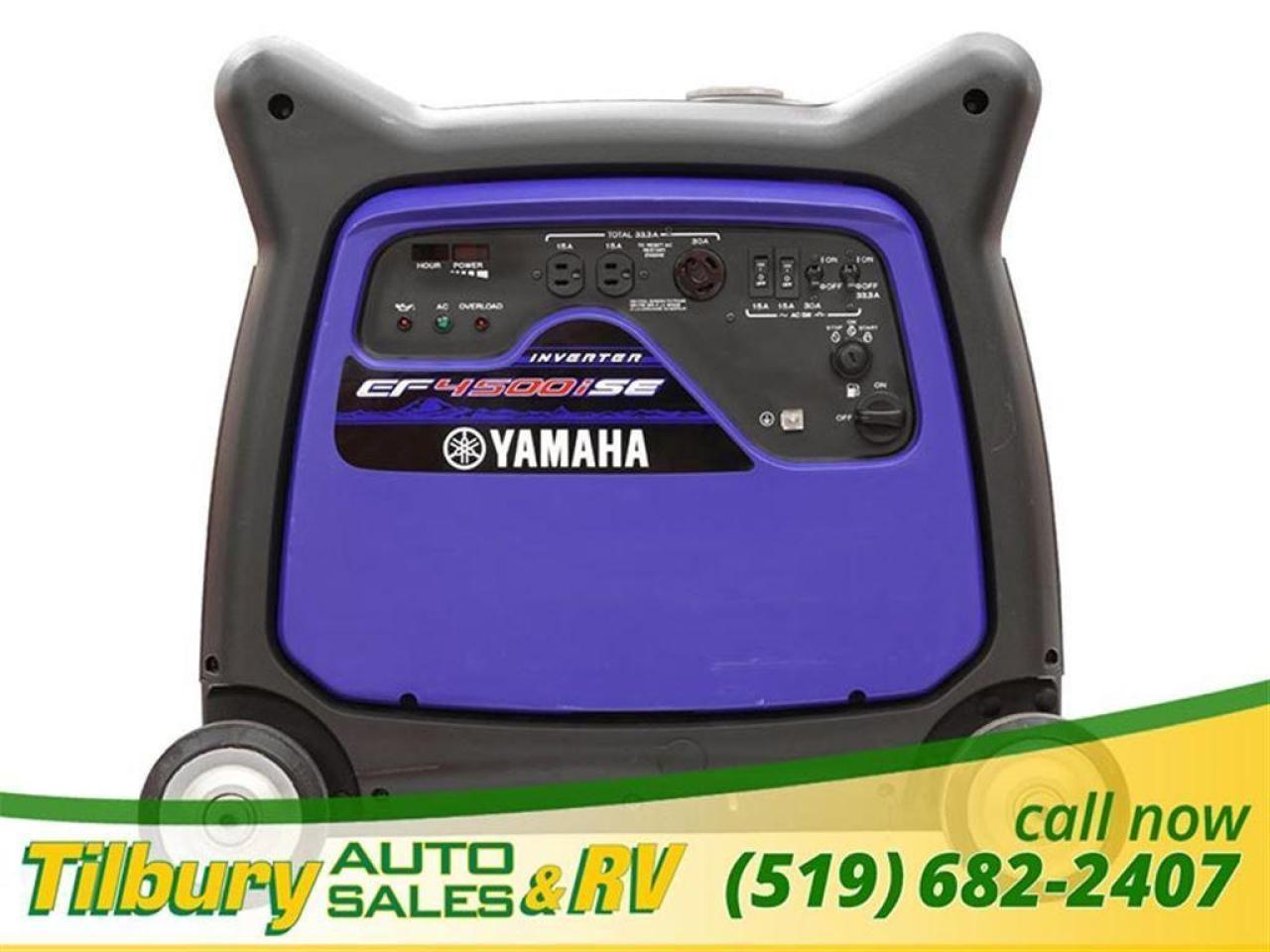2018 Yamaha EF4500iSE GENERATOR. 1 IN STOCK.