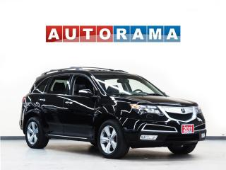 Used 2011 Acura MDX NAVIGATION LEATHER SUNROOF 7 PASS BACKUP CAMERA for sale in North York, ON