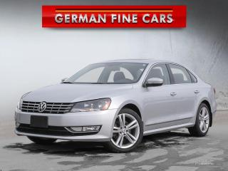 Used 2015 Volkswagen Passat Highline Diesel *** Navigation 86, 000KM for sale in Caledon, ON