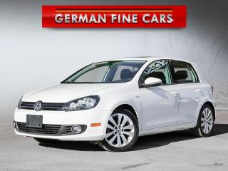 Used 2013 Volkswagen Golf Wolfsburg Edition, Accident Free***Only 74,000KM for sale in Caledon, ON
