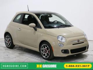 Used 2012 Fiat 500 SPORT A/C CUIR for sale in Saint-leonard, QC