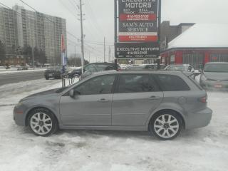 Used 2007 Mazda MAZDA6 GT WAGON!! LOW KM!! for sale in Scarborough, ON