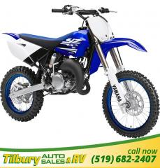 New 2018 Yamaha YZ85 (2 STROKE) 85cc, liquid-cooled, crankcase engine. for sale in Tilbury, ON