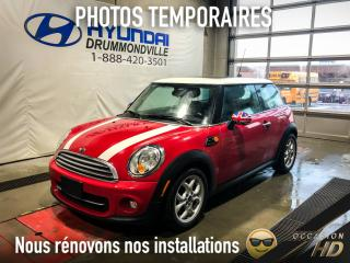 Used 2013 MINI Cooper HARDTOP + MAGS + PANO + SIÈGES CHAUFF. + for sale in Drummondville, QC