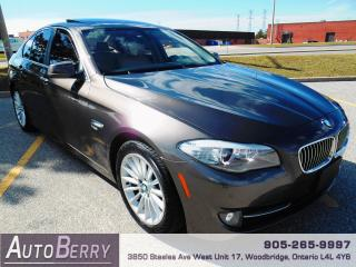 Used 2012 BMW 5 Series 535i xDrive All Wheel Drive for sale in Woodbridge, ON