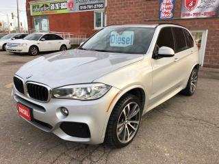 Used 2015 BMW X5 xDrive35d/M-SPORT/DIESEL/CERTIFIED/WARRANTY INCLUD for sale in Cambridge, ON