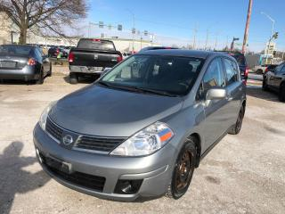 Used 2008 Nissan Versa 1.8/ONE OWNER/NO ACCIDENT/CERTIFIED/WARRANTY INCLU for sale in Cambridge, ON