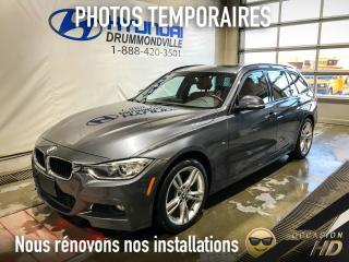 Used 2014 BMW 328 DIESEL + XDRIVE + PREMIUM + NAVI + PANO for sale in Drummondville, QC